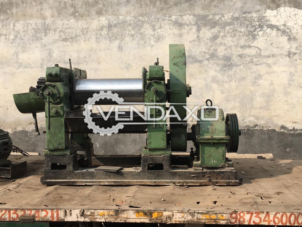 Mixing Mill - 16 x 42 Inch With Motor