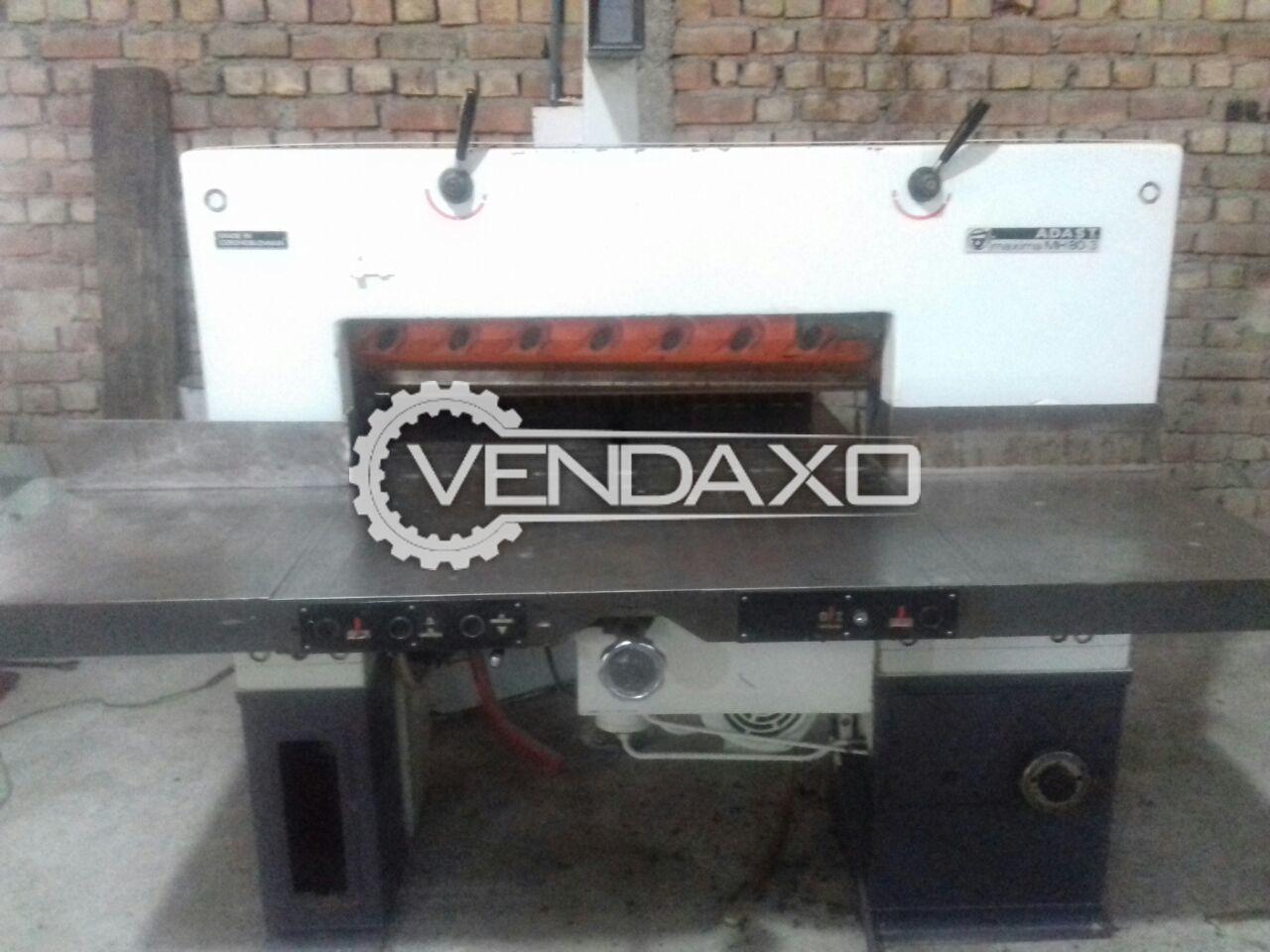 ADAST Maxima MH80-3 Hydraulic Paper Cutting Machine - 80 CM