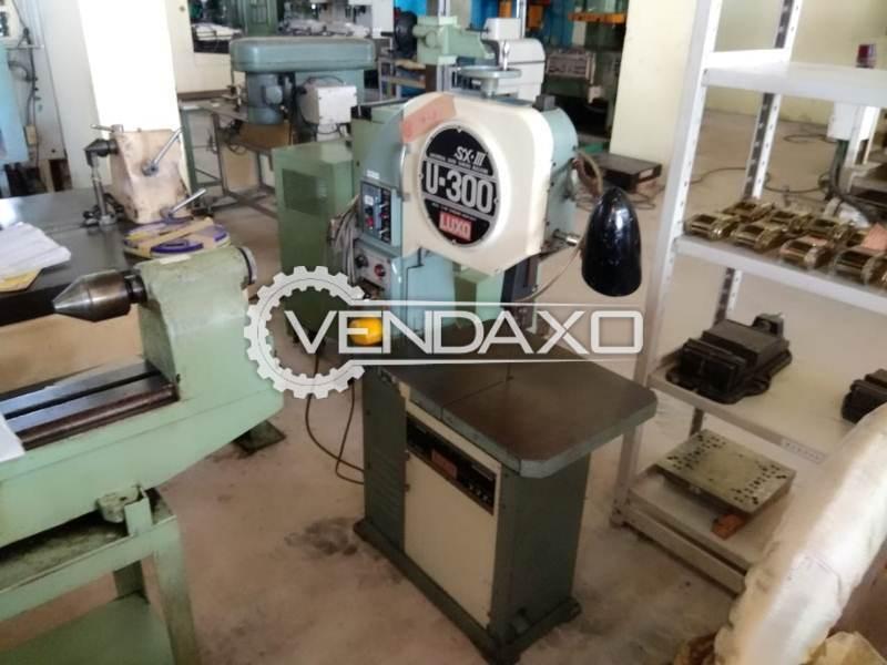 LUXO U300 Bandsaw Machine - Table Size - 400 x 500 mm