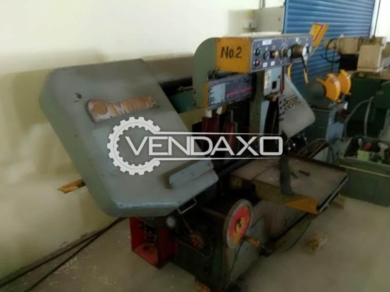 AMADA H450 Bandsaw Machine - Blade Length - 4670 mm