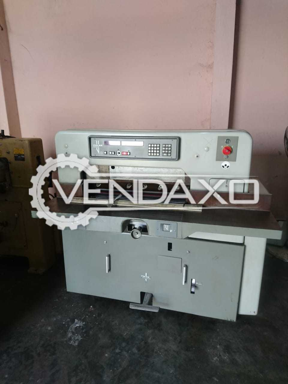 Polar 76 EM Paper Cutting Machine - Size - 30 Inch