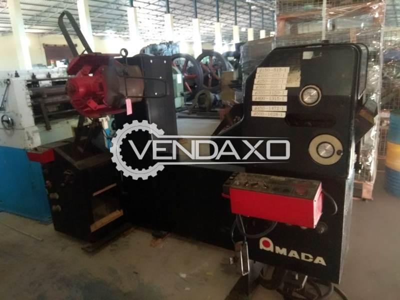 AMADA LFD-250 Coil Feeder Machine - Coil Width - 25 to 250 mm