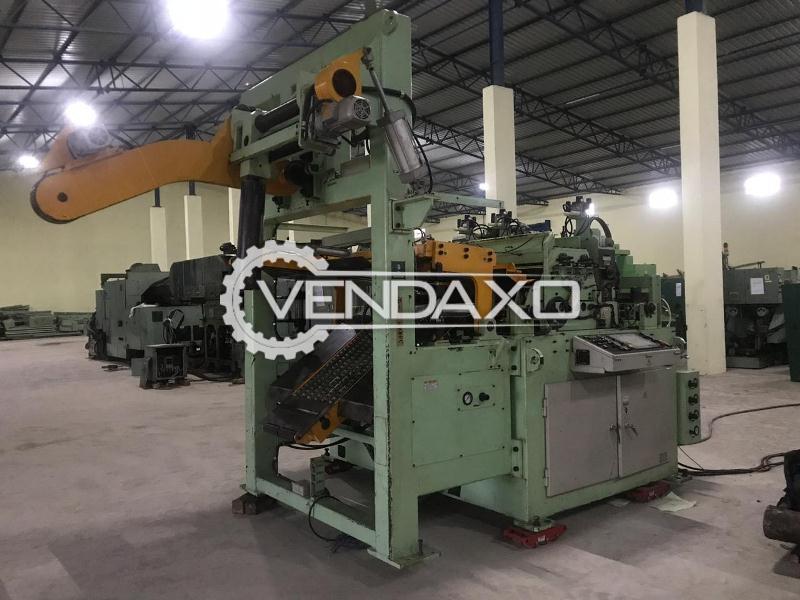 AIDA 1200 Coil Feeder Machine - Coil Width - 1200 mm