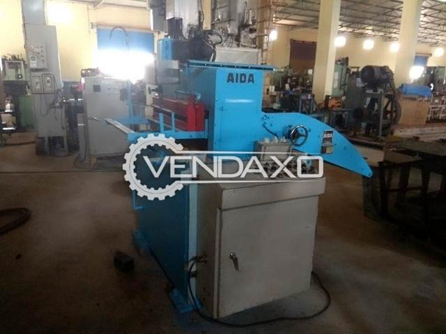 AIDA RSE-60 Coil Feeder Machine - Coil Width - 50 to 610 mm