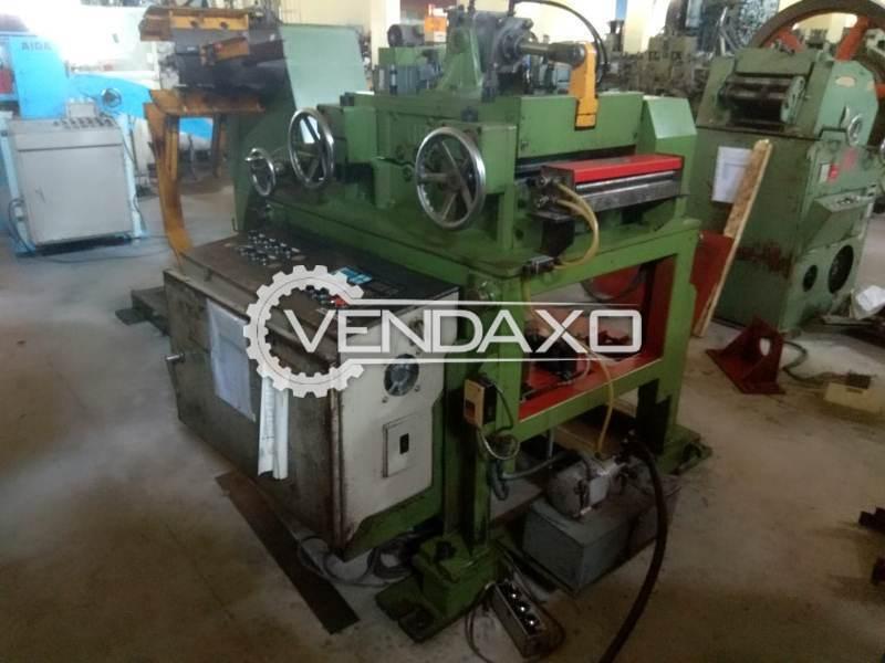 ORII LCC04HAISAX-DTX Coil Feeder Machine - Coil Width - 400 mm