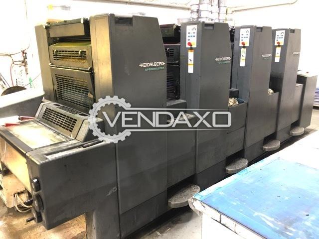 Heidelberg SM-52-4P3 Offset Printing Machine - 4 Color, 1999 Model