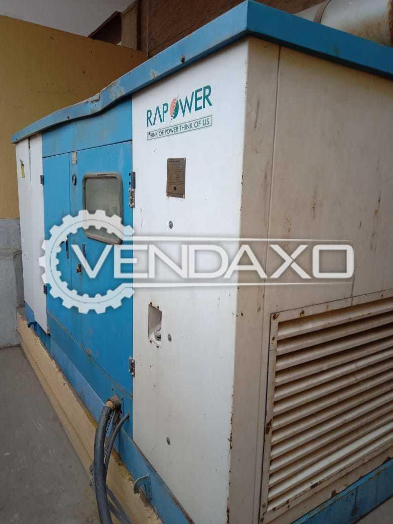 Rapower Diesel Generator - 125 Kva, 2010 Model