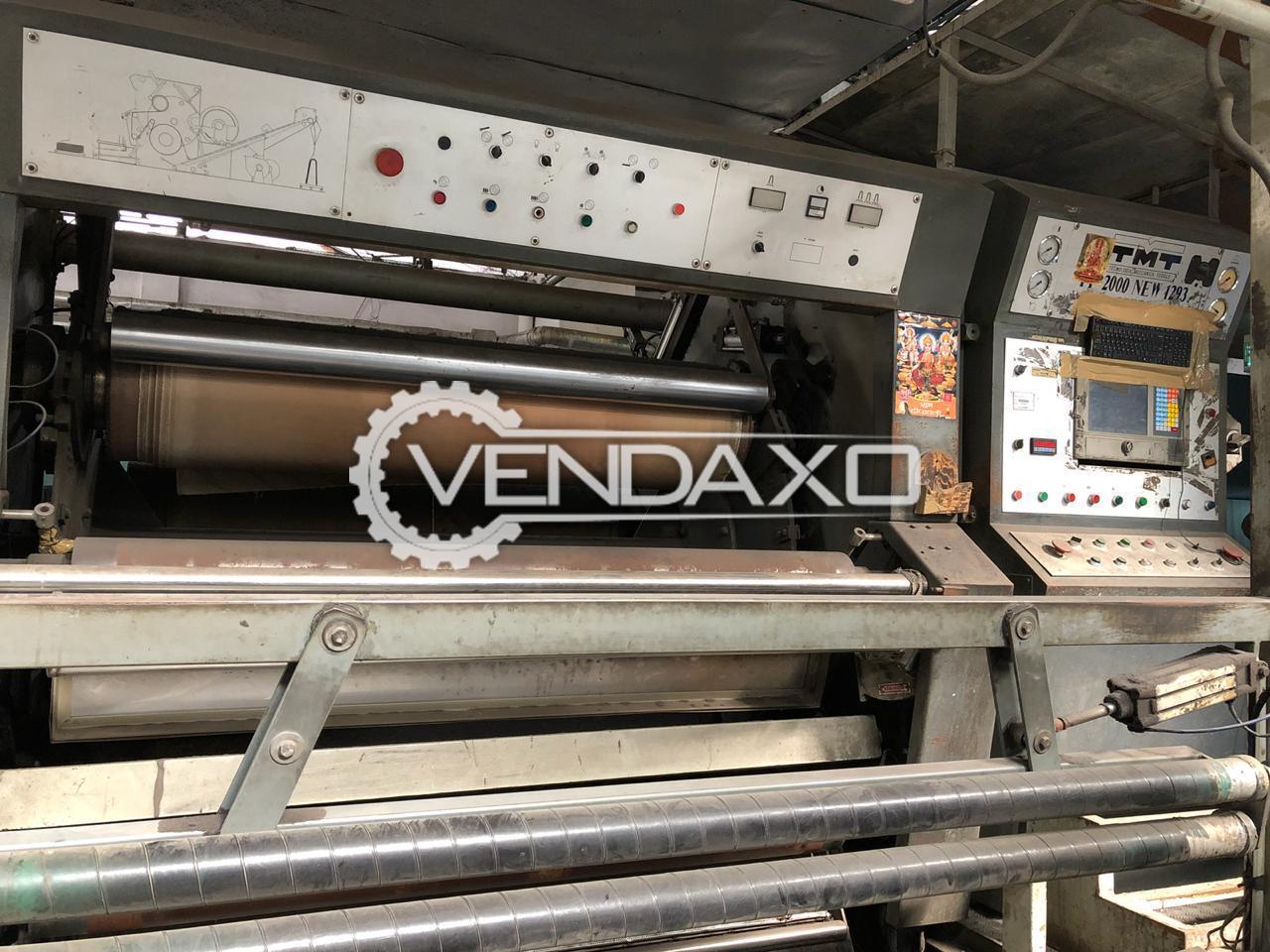 TMT PF 1293 Multiprogram Kier Decatizing Machine - Width - 1800 mm