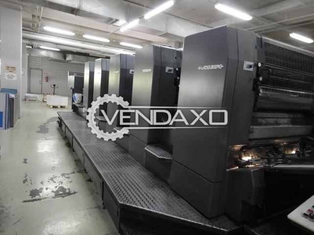 Heidelberg SM-102-5 Offset Printing Machine - 28 x 40 Inch, 5 Color