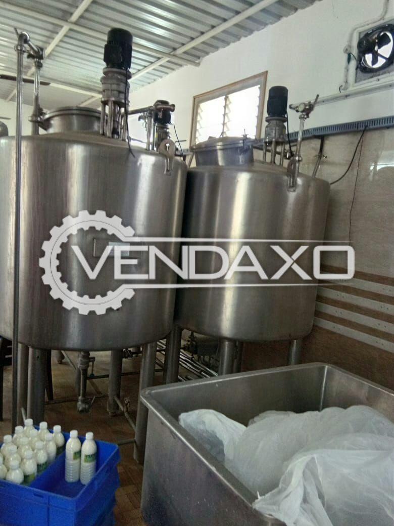 Milk Processing Plant Setup - 1 KL