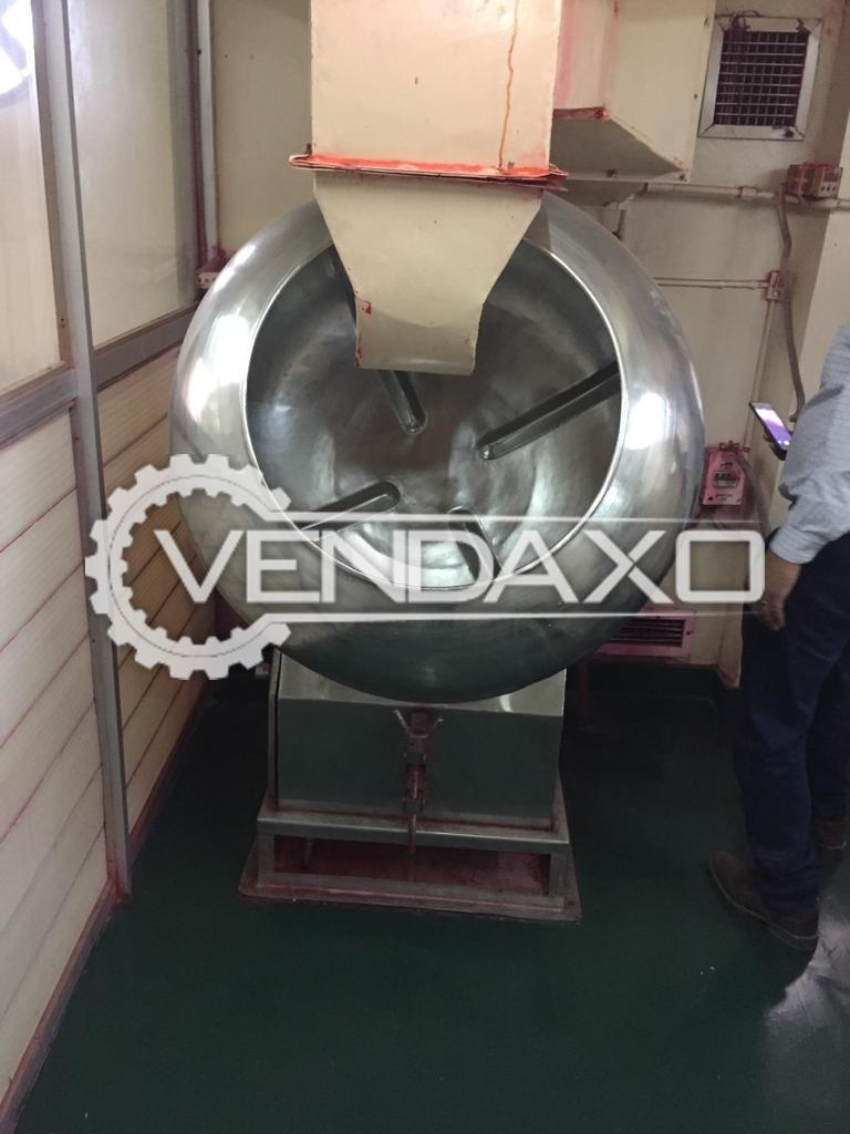 Coating Pan - 36 Inch With Blower