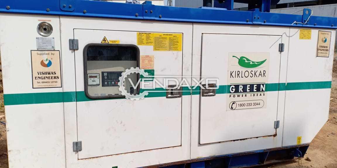 Kirloskar Diesel Generator - 82.5 Kva, 2012 Model