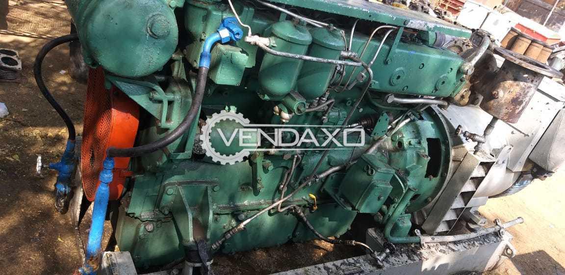 Used Volvo Penta TAMD122A Open Marine Diesel Genset - 245