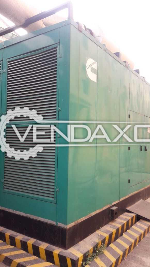 Cummins Diesel Generator - 1010 Kva, 2015 Model