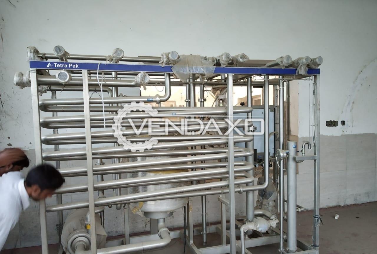 Tetra Pak Milk Pasteurizer - 10 KL