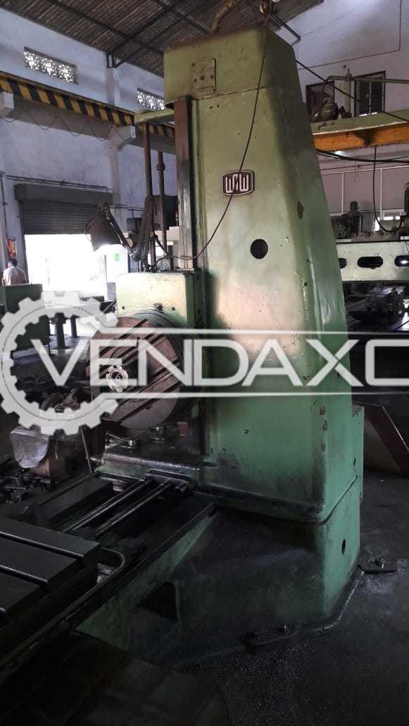 WMW 80 Horizontal Boring Machine - Spindle Size - 80 mm