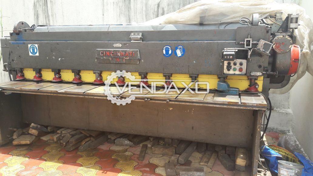 Cincinnati Shearing Machine - 3200 x 5 mm, With Back Gage