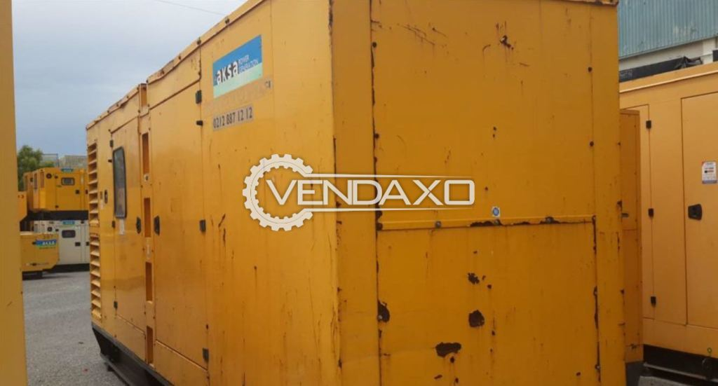 Aksa Diesel Generator - 703 Kva, 2008 Model
