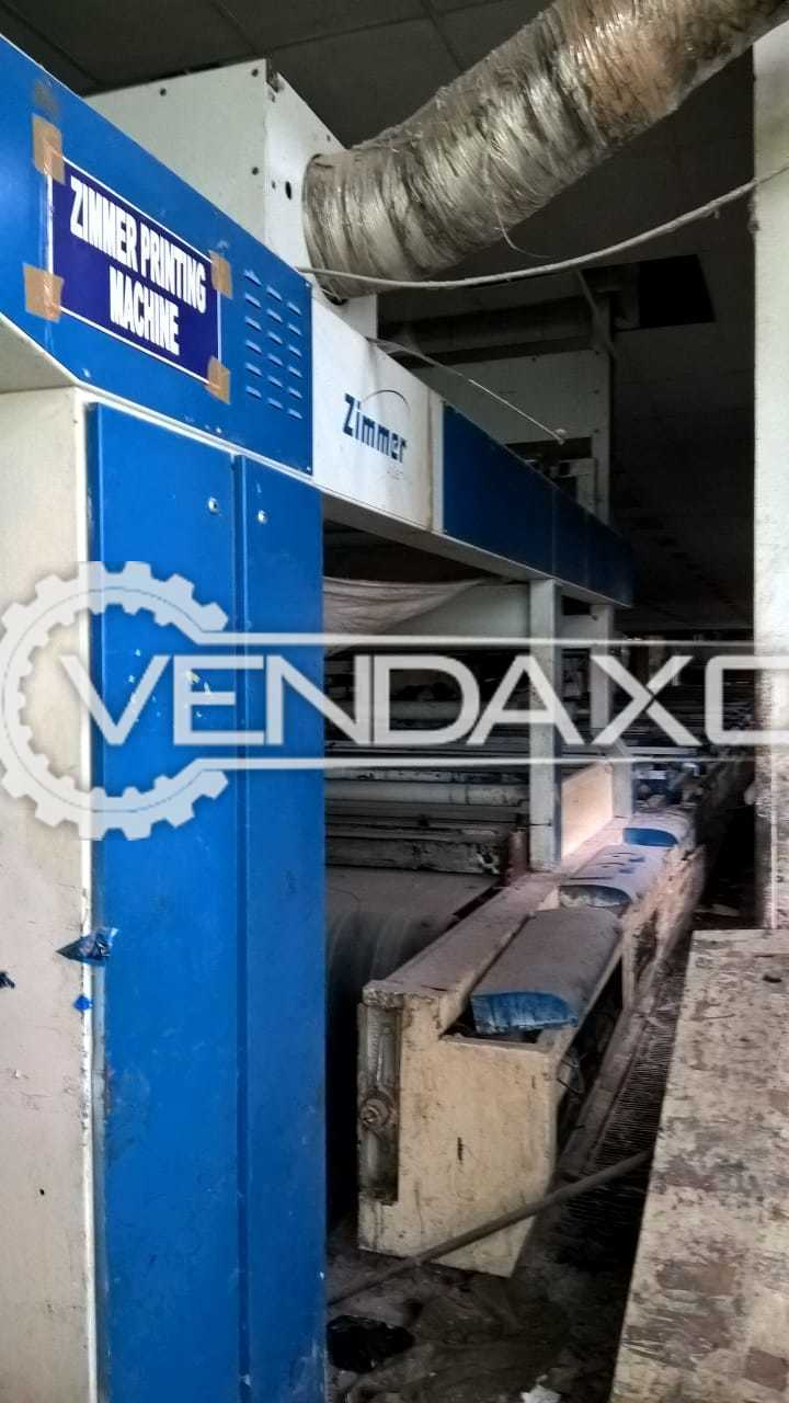 ZIMMER Textile Printing Machinery Plant - Width - 3200 mm