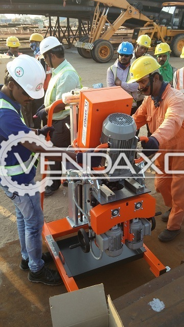 V-Max Convex XL Plate Beveling Machine - Table Size - 700 x 200 mm
