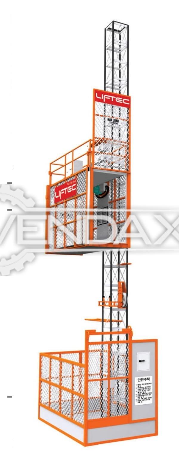 Man & Material Hoist [Passenger Hoist} | Construction Equipment