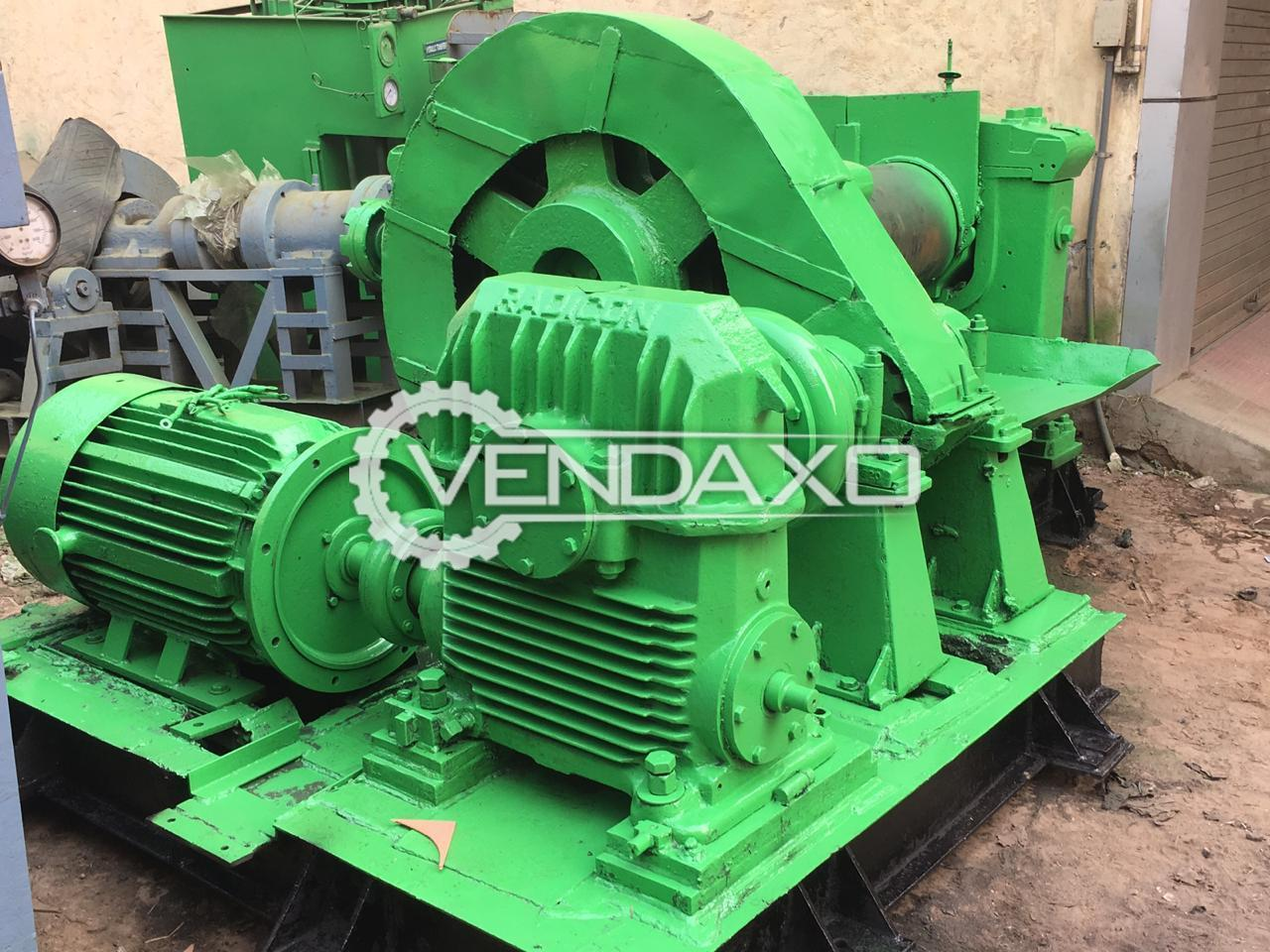 Mixing Mill - 16 X 42 Inch With All Gears