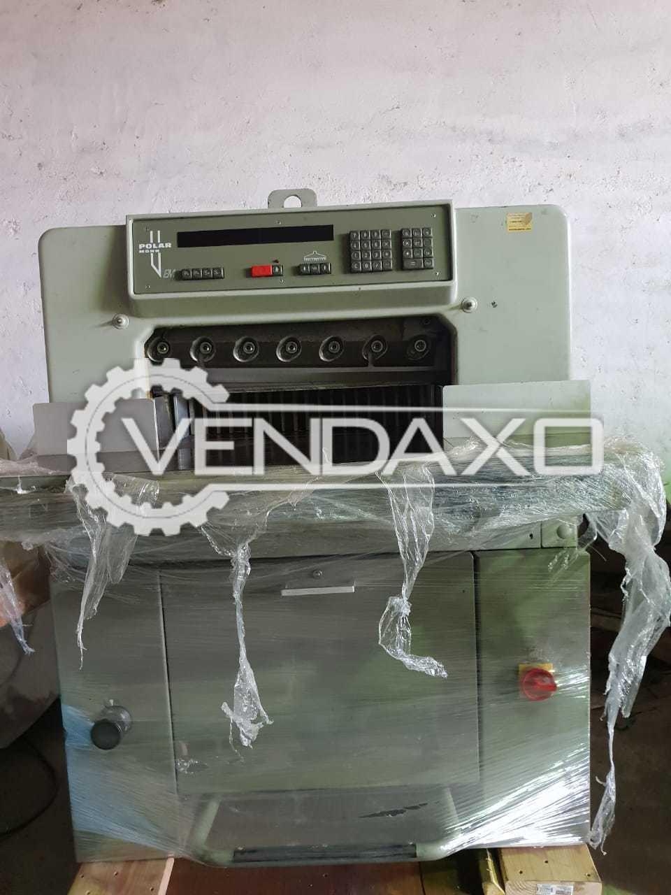 POLAR 55 Paper Cutting Machine - 23 Inch