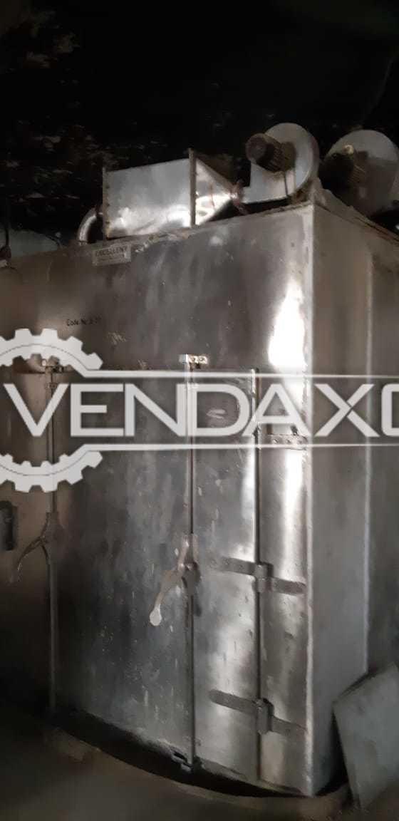 SS 304 Dry Heat Sterilizers - Double Door With Control Panel