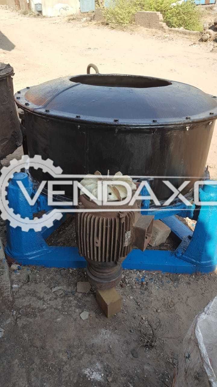 Rubber Line Centrifuge - Size - 48 Inch With Motor