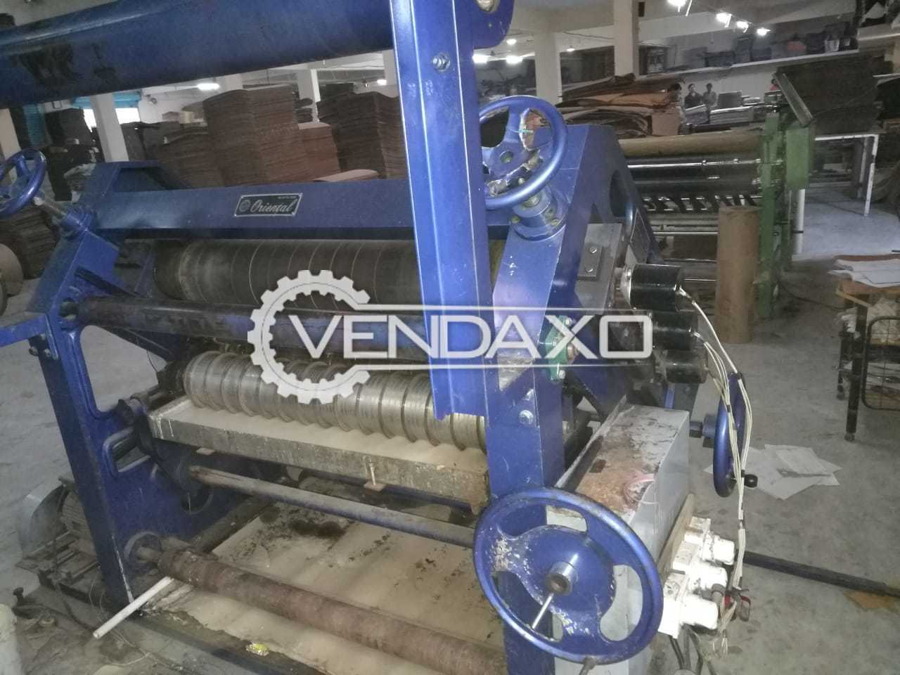 Corrugated Box machine - 42 Inch