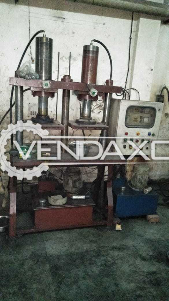 Rubber Hydraulic Press Machine - 16 X 16 Inch
