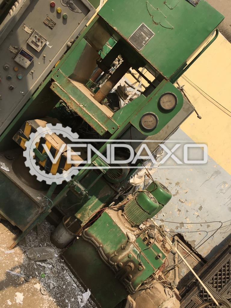 Transfer Injection Rubber Molding Machine - Plate Size - 16 X 16 mm