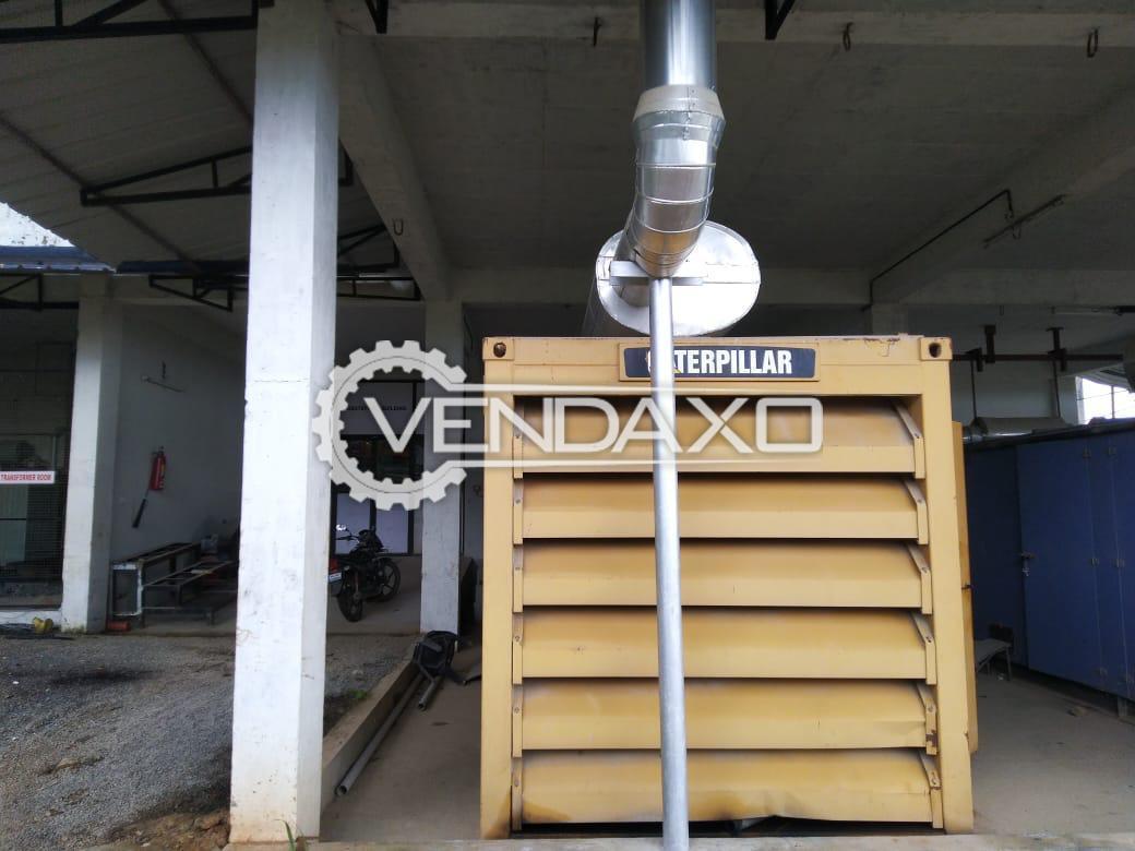 Caterpillar Diesel Generator - 600 Kva, 2012 Model