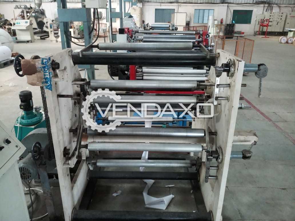 Available For Sale T-die Extrusion Lamination, Slitting, Rewinding, Sheeting, Stretch Film packing Machine