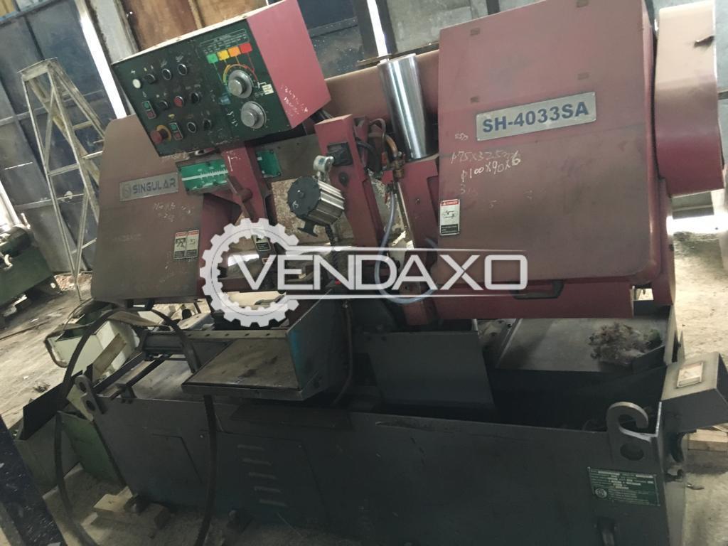 Hydraulic Bandsaw Cutting Machine - 400 mm