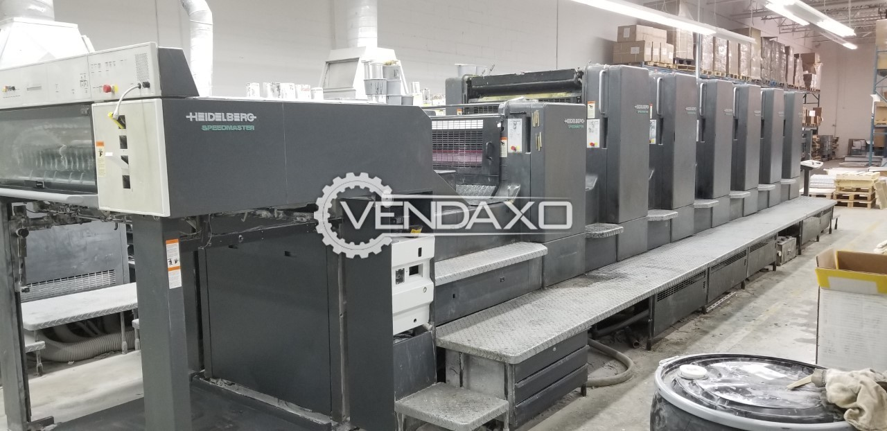 Heidelberg CD102-6-L Offset Printing Machine - 6 Color