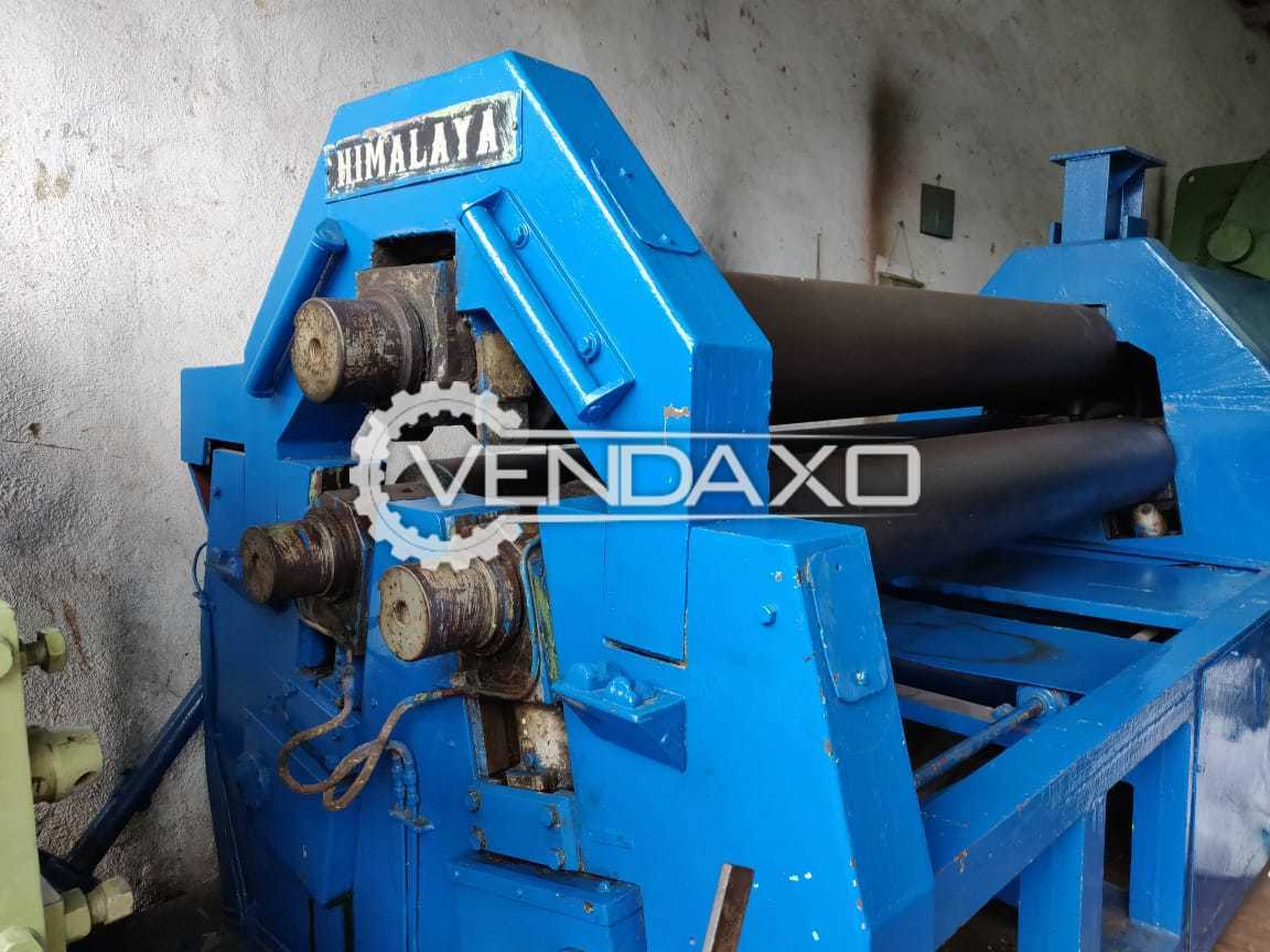 Himalaya Plate Bending Machine - 2.5 Meter x 25 mm
