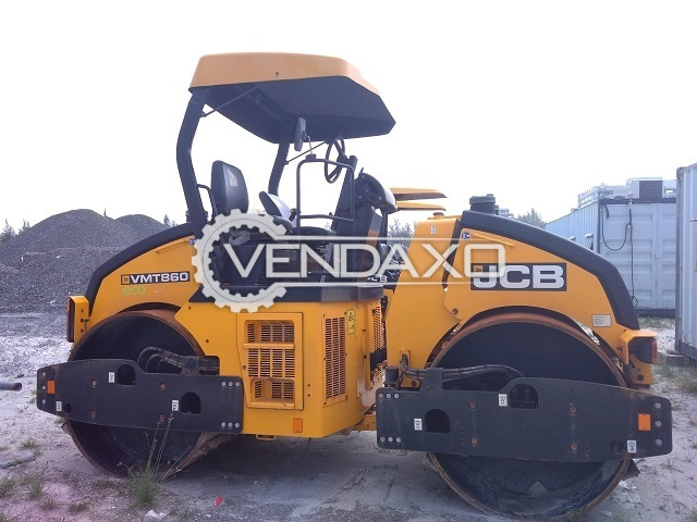 JCB VMT-860 Tandem Roller Machine - Power - 56 KW, 76 HP