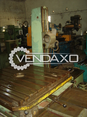 TOS WH 80 Horizontal Table Type Boring Machine - Spindle Diameter - 80 mm