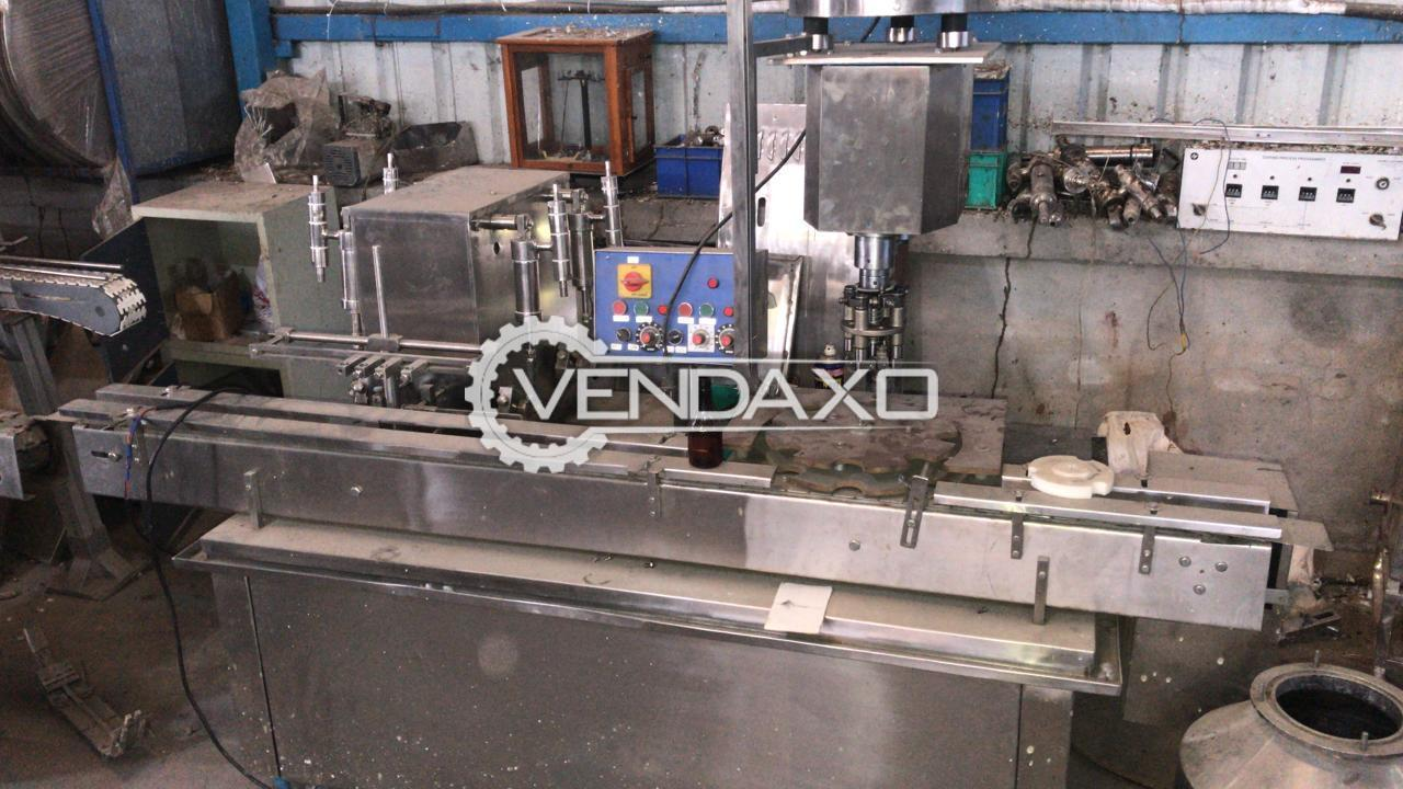 Filling & Sealing Machine - 4 Head