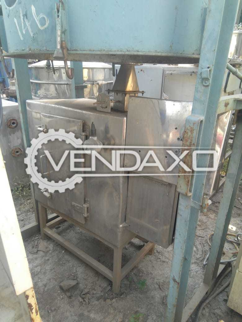 SS Tray Dryer - GMP Model - 12 Tray