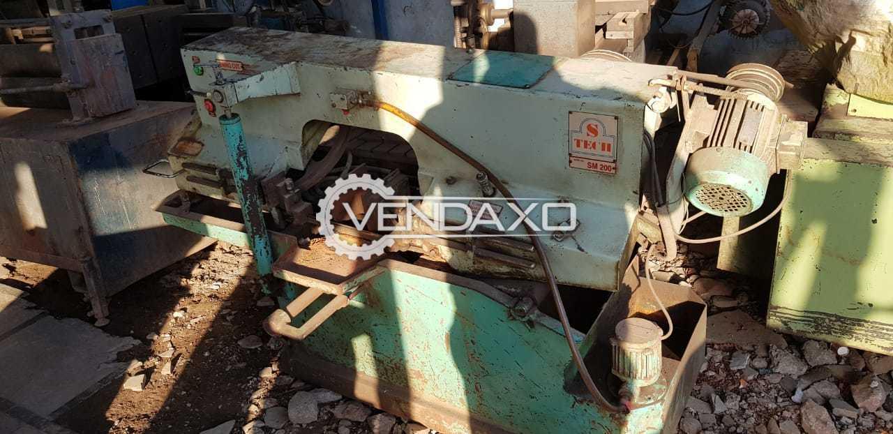 S-Tech Circular Bandsaw Machine - 200 mm