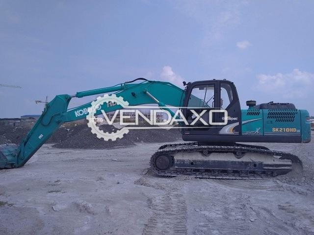 KOBELCO SK210 HD Excavator - Hydraulic System