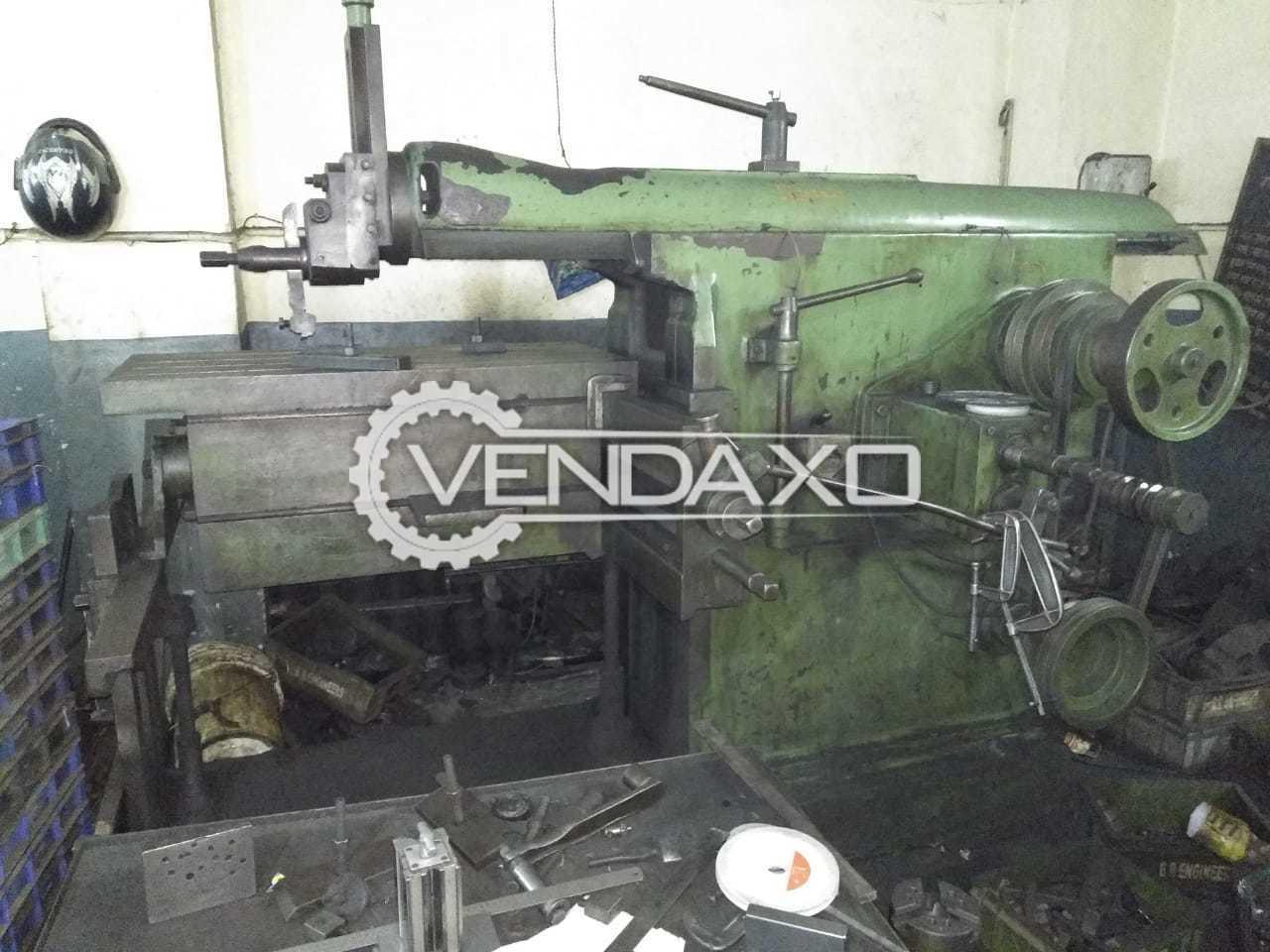 Climax Shaper Machine - 42 Inch
