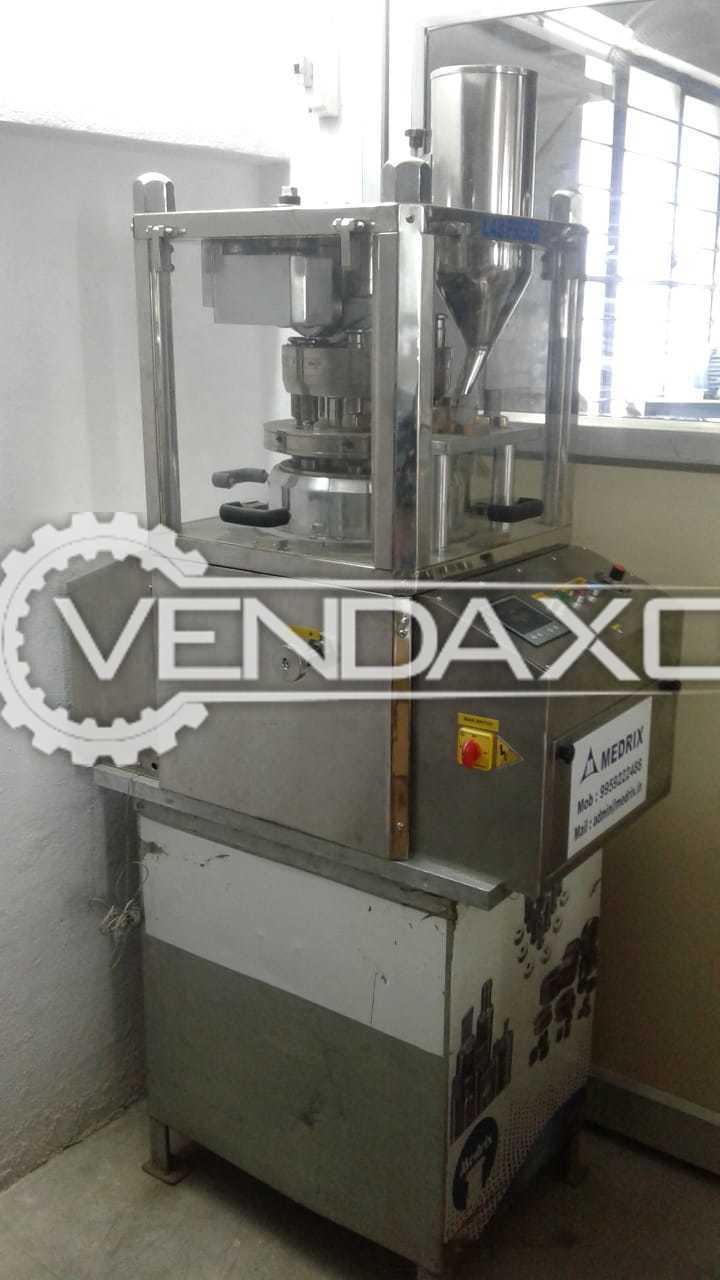 Medrix Pharma Tablet Press Machine - 8 Station