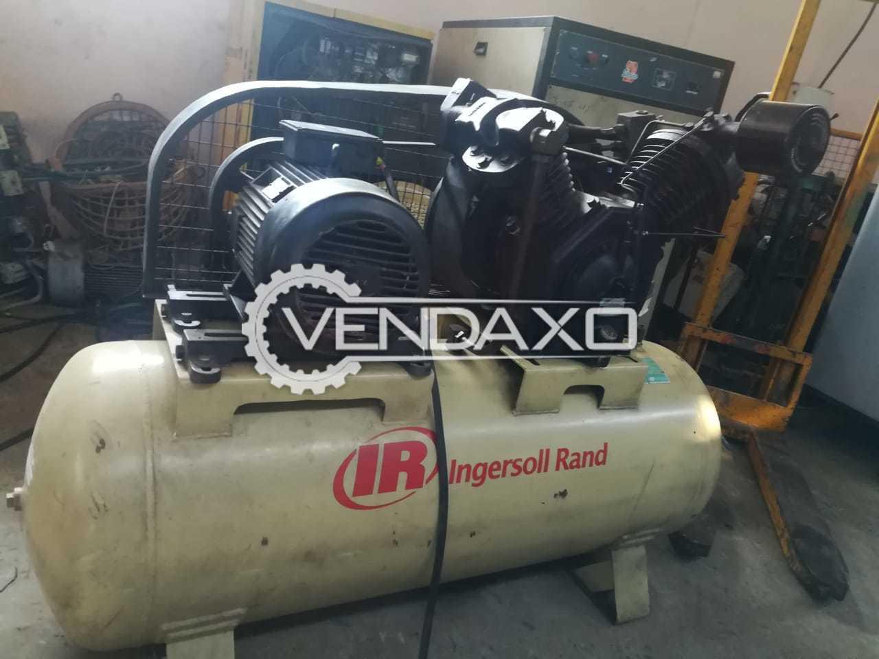 Ingersoll Rand Reciprocating Air Compressor - Motor - 15 HP