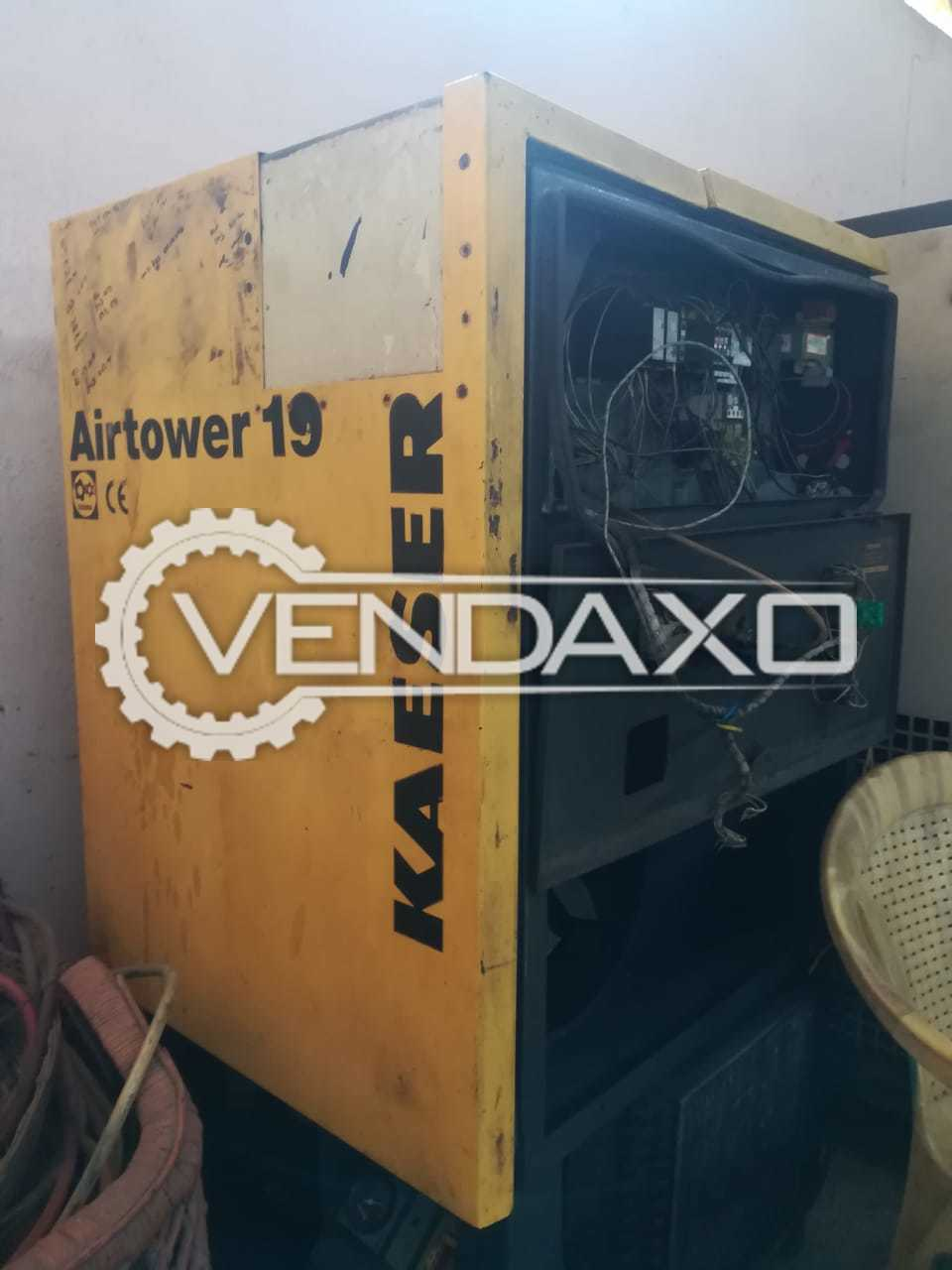 Kaeser Air Compressor - Motor - 15 HP
