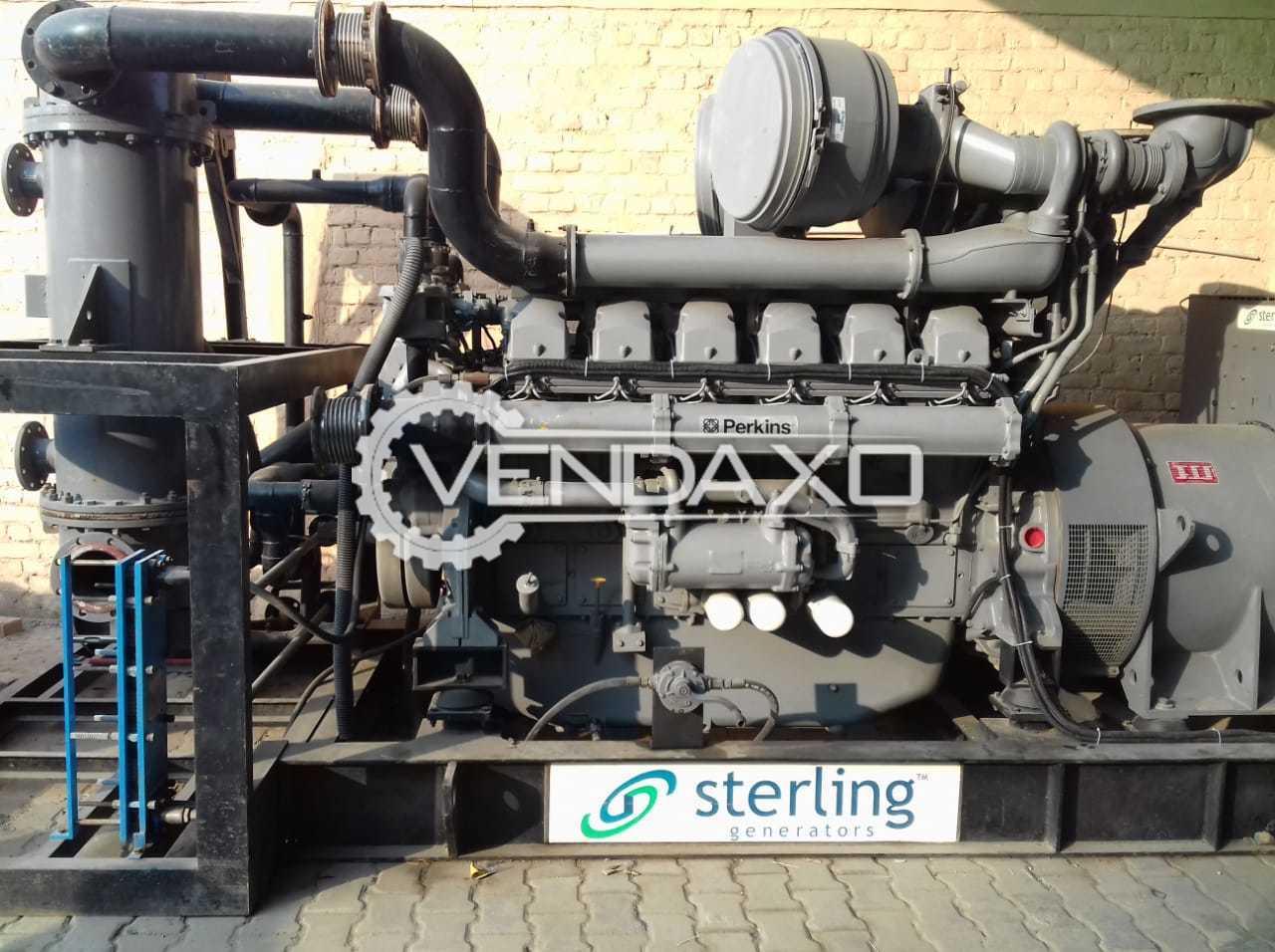 Perkins Diesel Generator - 1500 Kva