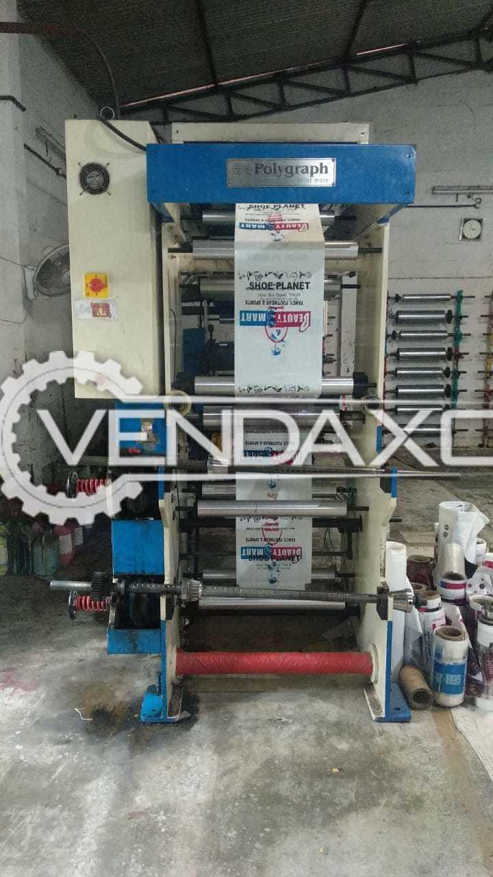 Polygraph Flexo Printing Unit - 24 Inch, 4 Color