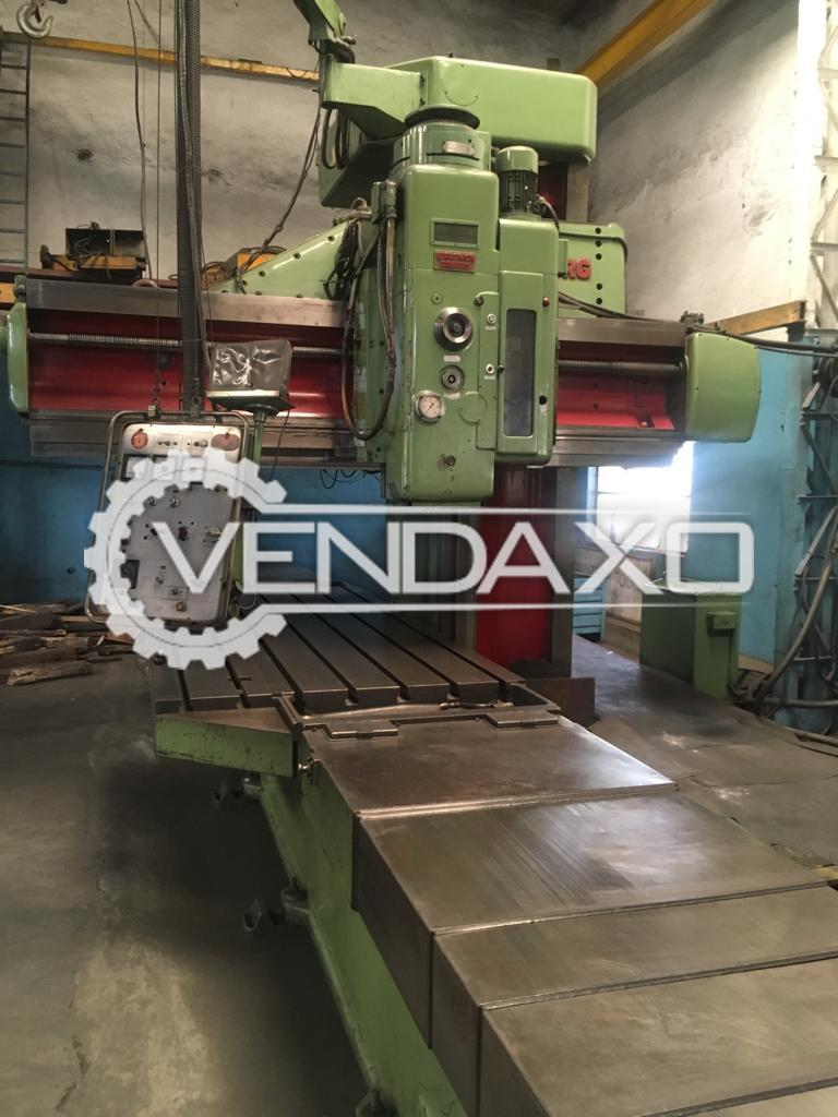 COLLET Floor Type Boring Machine - Table Size - 4500 x 1800 mm